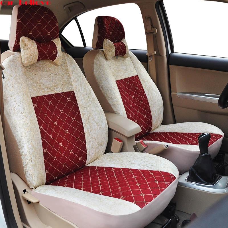 Здесь продается  Car Believe Universal car seat cover For hyundai creta camry 40 honda civic 2006-2011 renault laguna 2 covers for vehicle seat  Автомобили и Мотоциклы