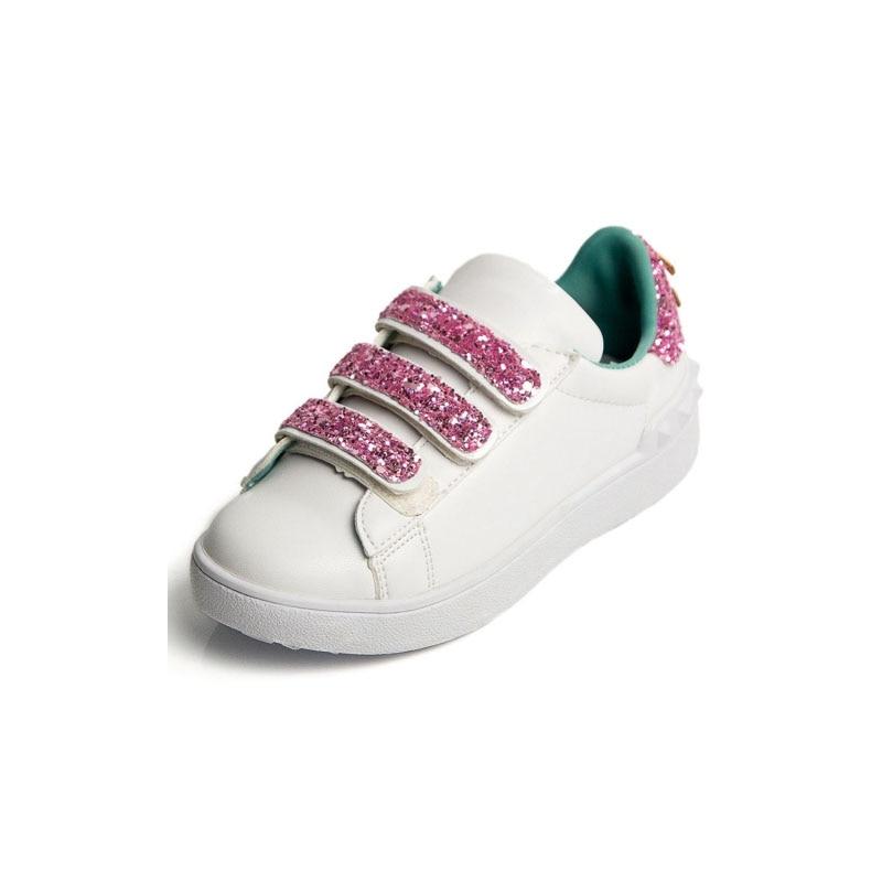 Autunno dei bambini di cuoio dell unità di elaborazione scarpe da ginnastica  per bambini di marca scarpe da ginnastica di moda per il bambino ragazze  della ... ca9f7deccae