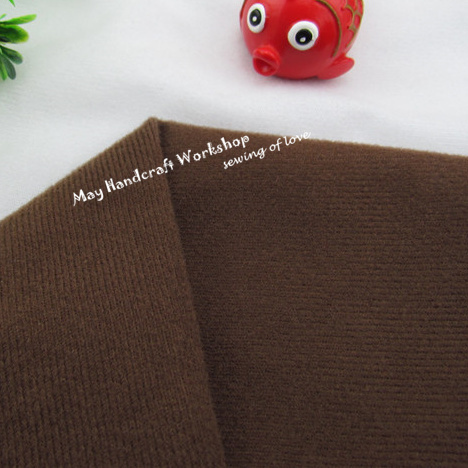 50 150cm Brown Coffee Solid Color Fleece Fabric Tilda Plush Cloth for Doll Pillow Sewing Velvet