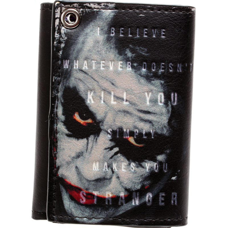 Batman, the joker short a wallet purse young men and women fashion students DFT-1291 ouluoer thailand imported crocodile skins the lady women purse with a purse and a long women wallet