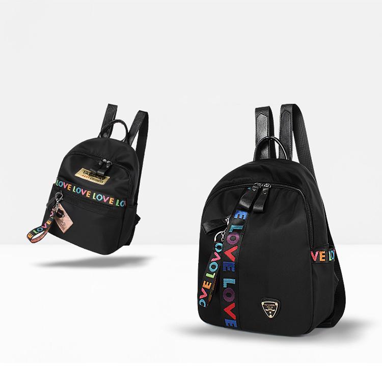 Women Waterproof Casual Backpack Middle School Designer Bookbag ... 9916f60fe7