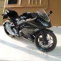 (5pcs/pack) Wholesale Brand New Motorbike Model Toys 1/12 Scale Black Kawasaki Ninja Diecast Motorcycle Model Toy For Gift/Kids