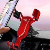 Lhd para volvo s90/v90 2017-2019 telefone do carro suporte móvel de montagem de 360 graus suporte de célula de ímã de ventilação de ar suporte