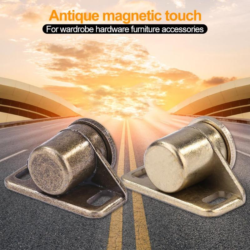Zinc Alloy Door Magnet Cabinet Catch Compact Structure New and High Quality for Wardrobe Hardware Furniture Accessories