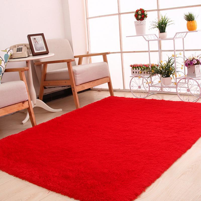 120x160cm Large Plush Shaggy Thicken Soft Carpet Area Rug Floor Mats Dining Living Room Bedroom