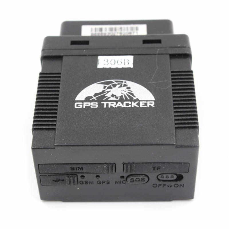 OBD2 GPS المقتفي سيارة GPS306B مركبة الويب GPS تتبع الروبوت APP Trackerhome OBD GPS LBS محدد مع جهاز مراقبة الصوت متعقب السيارات