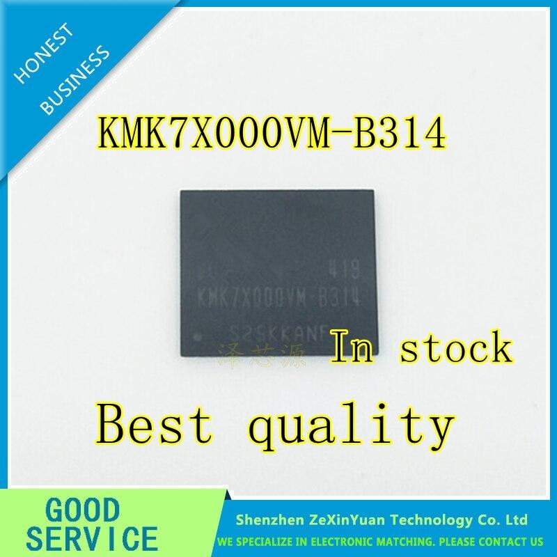 5PCS/LOT KMK7X000VM-B314 KMK7X000VM B314 For Original 8G EMMC CHIP IC