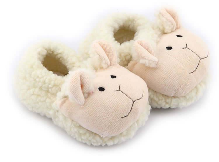 Baby kids toddler shoes infantil baby shoes soft sole girl boys shoes warm sheep baby first walker