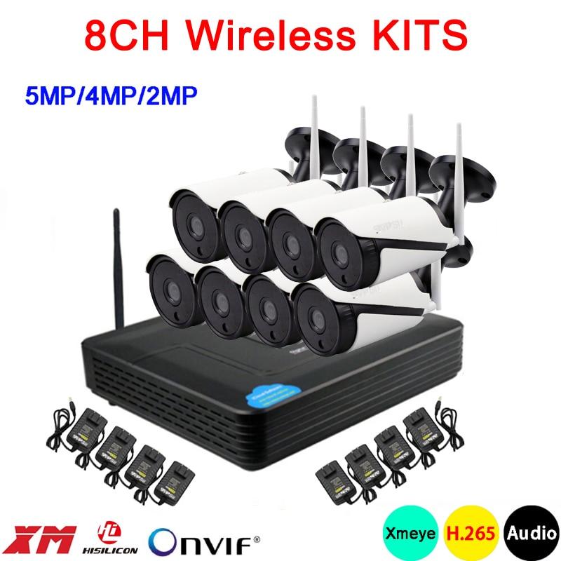 5mp/4mp/2mp สีขาวอินฟราเรด 36pcs ICsee กันน้ำเสียง H.265 + 25fps 8CH 8 ช่อง WIFI ไร้สายชุดกล้อง IP จัดส่งฟรี-ใน ระบบการเฝ้าระวัง จาก การรักษาความปลอดภัยและการป้องกัน บน AliExpress - 11.11_สิบเอ็ด สิบเอ็ดวันคนโสด 1