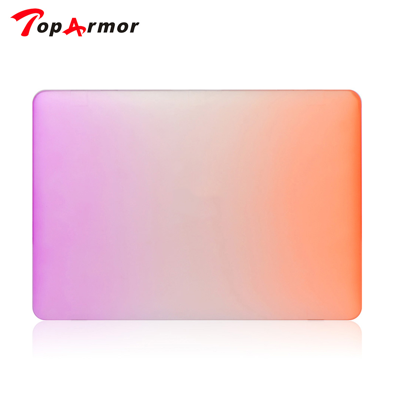 TopArmor Rainbow Hard Protector Case for Macbook air 11/ 13 inch,cover for Macbook Pro 13 /15 inch for Macbook Pro Retina 12 13
