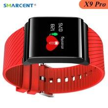 Smarcent X9 Pro Smart Браслет Шагомер крови Давление Смарт-часы монитор сердечного ритма Смарт глубокий Водонепроницаемый браслет