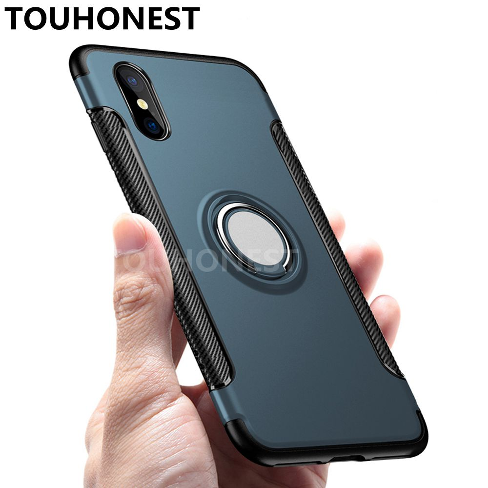 For iphone XS Max XR Shockproof Rubber Armor Case For iphone X 8 7 plus Silicone Back Cover Case For iphone 6s 6 plus 5 5S SE iPhone XS