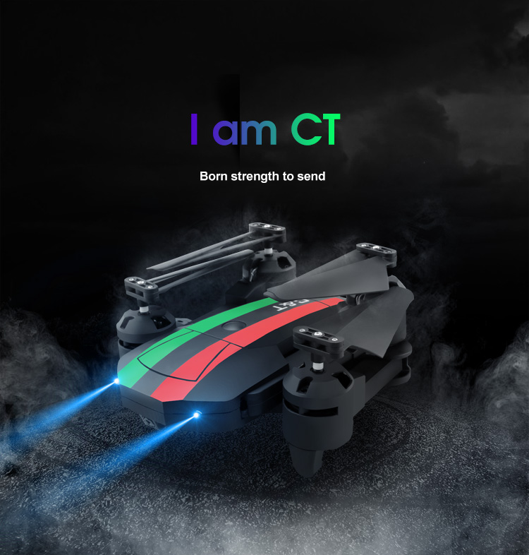 Mini Foldable Selfie RC Drone No Camera or Drones With FPV Wifi 0.3MP Camera 4CH Altitude Hold Quadcopter VS XS809HW E58 E51
