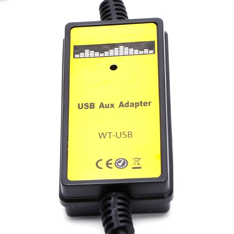 Image 4 - Car USB Aux in CD Adapter MP3 Player Radio Interface 12 Pin For V W Audi Skoda Seat-in Cables, Adapters & Sockets from Automobiles & Motorcycles
