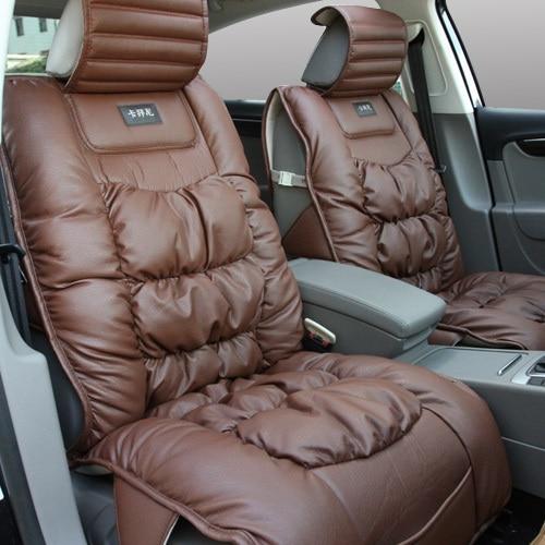 Ostrich Skin Leather Car Seat Covers Auto Accessaries Black Brown Beige Lc059 Car Lampshade Car Protectcar Machine Aliexpress