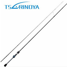 Tsurinoya 2 Sections 1.89m UL Fast Spinning Fishing Rod Carbon Fiber Bass Fishing Rods Canne A Peche Carbon Fishing Tackle