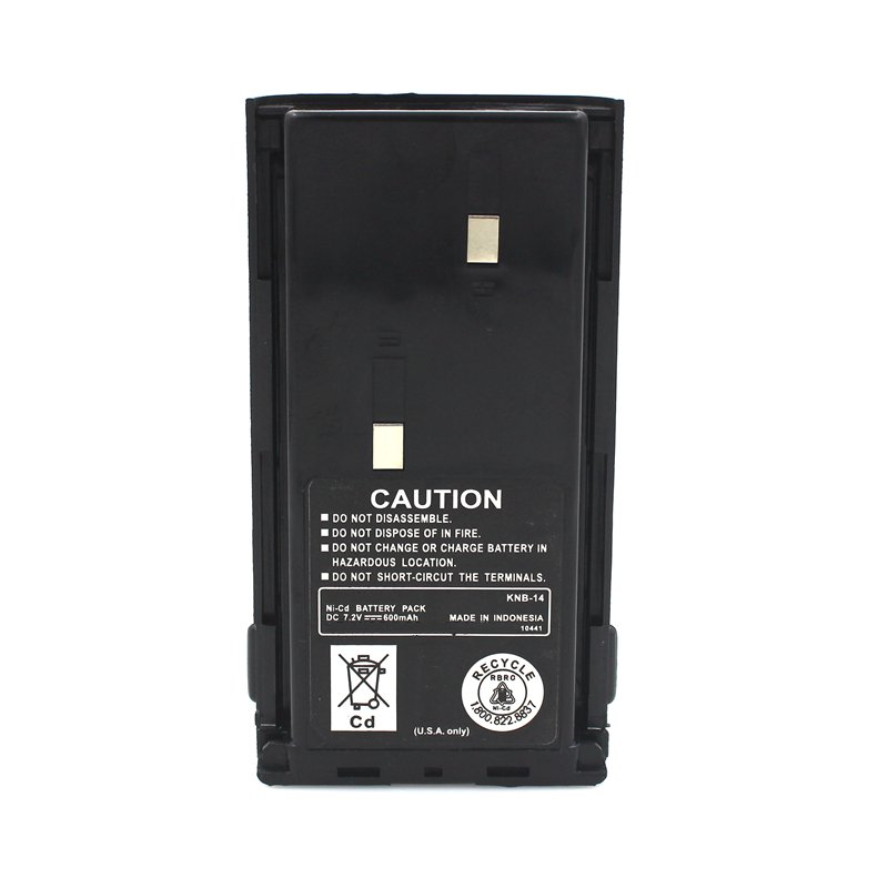 KNB-14 Batterie Shell Cas Pack pour Kenwood Portable Radio Bidirectionnelle TK-2107 TK-2107G TK-2100 TK-2102 TK-3102 TK-3107 Talkie Walkie