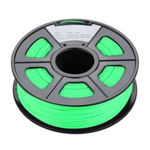 New 1.75mm Glow in the Dark PLA 3D Printer Filament – 1kg Spool (2.2 lbs) – Dimensional Accuracy +/- 0.02mm