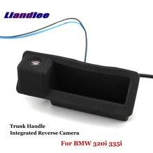 Liandlee Car Reverse Camera For BMW 320i 335i Rear View Backup Parking Camera / Trunk Handle Integrated High Quality new high quality rear view backup camera parking assist camera for toyota 86790 42030 8679042030
