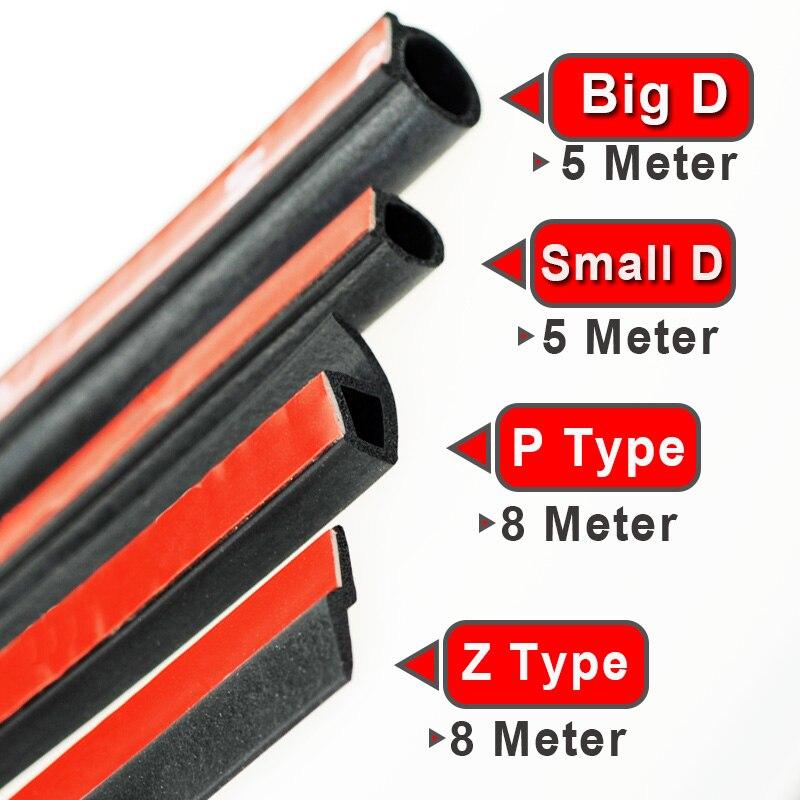 P 8M BigD 5 M Small D 5 M Z 8 M Rubber Seals SetFillers car