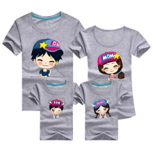 Cartoon Family Tee Shirts 2016 Men Anime Harajuku T-shirt Gym Clothing Beach Tshirt Homme Polera Mother Pink Daughter Outfits Uk