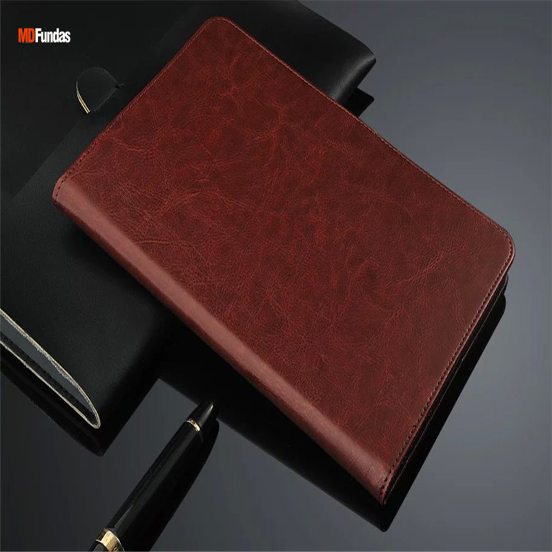 MDFUNDAS Vintage Flip Leather Case Cover For Xiaomi Mi Pad 3 Case Luxuy Wallet Funda Shell For Mipad 3 Coque + Screen Protectors