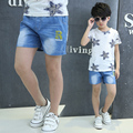 Hot sale! High Quality 2016 New Summer Fashion Children Kids Shorts Fancy Baby Boys Jeans Shorts Pants Letter R Print