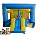 Cartoon Residential Bounce House Inflatable Bouncer with Slide for Kids