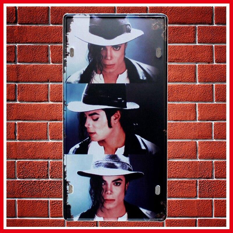 NºNueva Michael Jackson metal coche Marcos de matrícula vintage ...