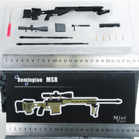 Mini Toys 1 6 Scale Remington MS Full Metal Sniper Rifle Model Sand For12 Soldier Action