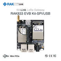 RAK833 EVB Kit Mini PCIe LoRa Gateway SX1301 Concentrator Module and Router AP Module RAK634 Kit, SPI&USB Industrial Grade