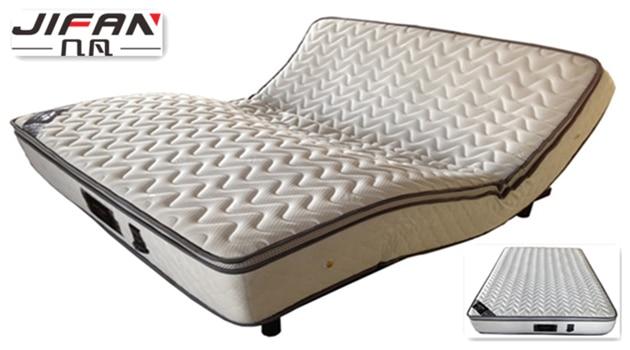 Electric soft bed bed mattress natural latex mattress ...