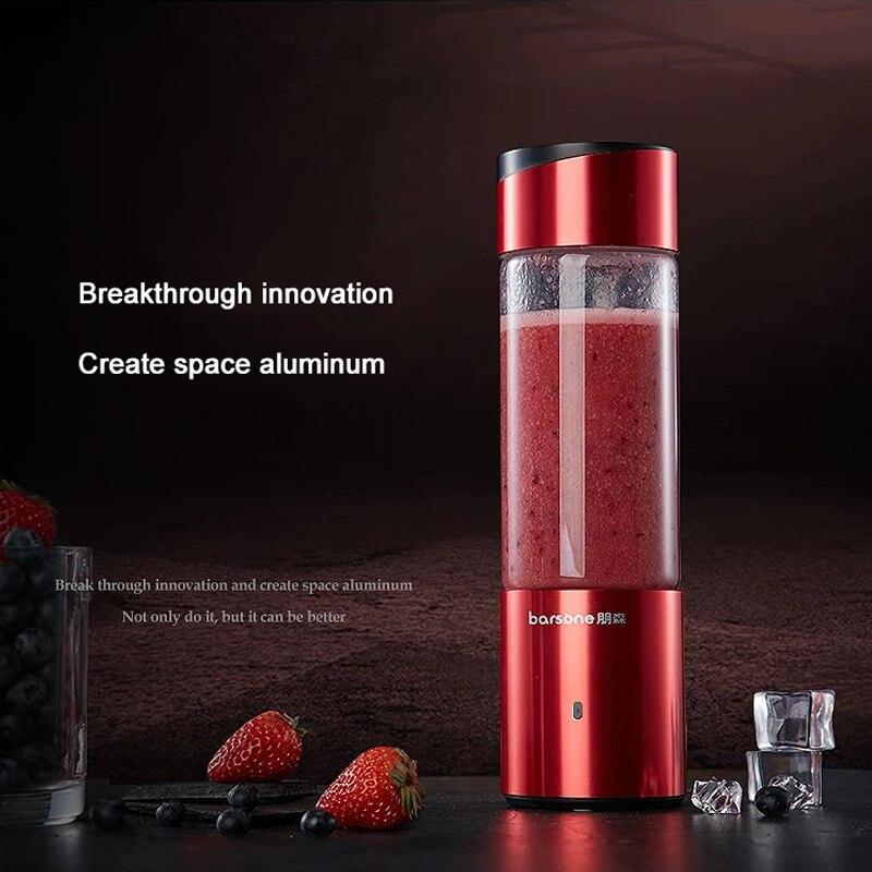 Draagbare Juicer mini Elektrische Juicer Cup Reizen Blender Thuis Fruit Mengmachine 350ML Afneembare Cup-in Juicers van Huishoudelijk Apparatuur op  Groep 1