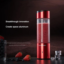 Portable Juicer mini Electric Juicer Cup Travel Blender Home Fruit Mixing Machine 350ML Detachable Cup(China)