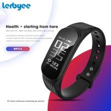 Lerbyee Sport Fitness Tracker WP112 Smart Bracelet Heart Rate Monitor Waterproof Smart Band Sleep Monitor Activity Tracker