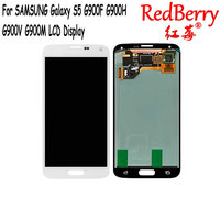 Redberry Original 5 1 Super AMOLED LCD For SAMSUNG Galaxy S5 LCD Display G900 G900F G900M
