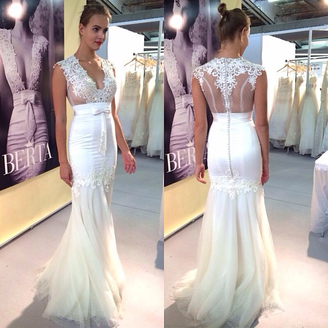 robes de mariage Bridal Gowns See Through Pageant Backless Vestidos ...