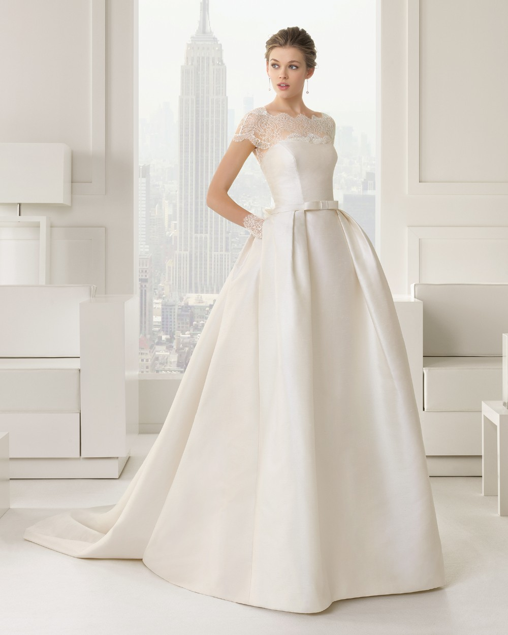 a line wedding dress with detachable train online buy wholesale exotic dancer gowns from china exotic