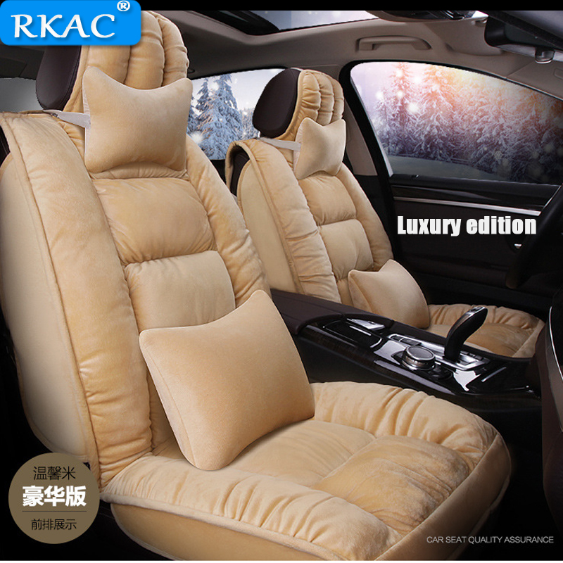 RKAC car Seat Cover AUTUMN Winter Front rear back Seats Cushion for Land Rover Discovery 3 4 5 freelander 2 Sport Range Rover