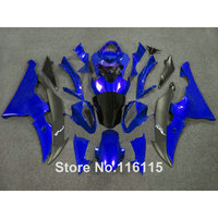 Fit for YAMAHA R6 2008 2009 2014 blue black fairings set YZF R6 08 13 14 custom fairing kit #2139 Full injection