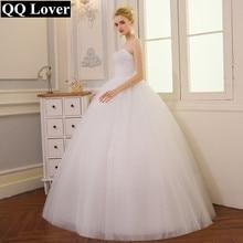 2016 Baru Kedatangan Elegan Bling Bling Beaded Wedding Dress Foto Nyata Custom Made Bersinar Vestido De Noiva