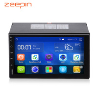 2Din Android 5.1 Car Video Player Radio Stereo 7'' Touch Screen HD 1024X600 GPS Navigation Bluetooth Wifi USB Front Rear Camera