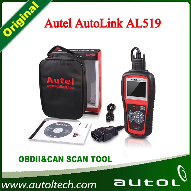 2016 Best Price High Quality Autel AutoLink AL519 Update Online Auto Link AL519 Diagnostic Tool With DHL Free Shipping high quality macadamia nut oil with best price