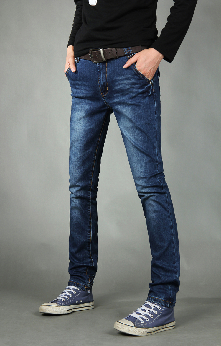 ae793de74e9 men fashion brand designer Hot sale jeans brand big size jeans men high  quality wear Men s fashion skinny leg stretch jeans-in Jeans from Men s  Clothing on ...