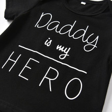 Daddy Is My Hero Baby Girl Clothing Set