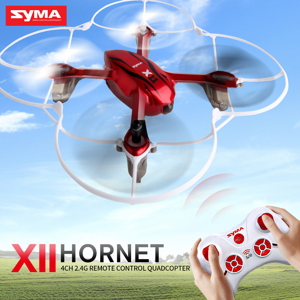 Original Syma X11 Mini Drones 6-Axis Gyro Remote Control Quadcopter RC Helicopter RC Drone 3D Roll LED Light Toys For Children syma 107e remote control mini drone 3ch rc mini helicopter gyro crash resistant baby gift toys smallest helicopter kid air plane