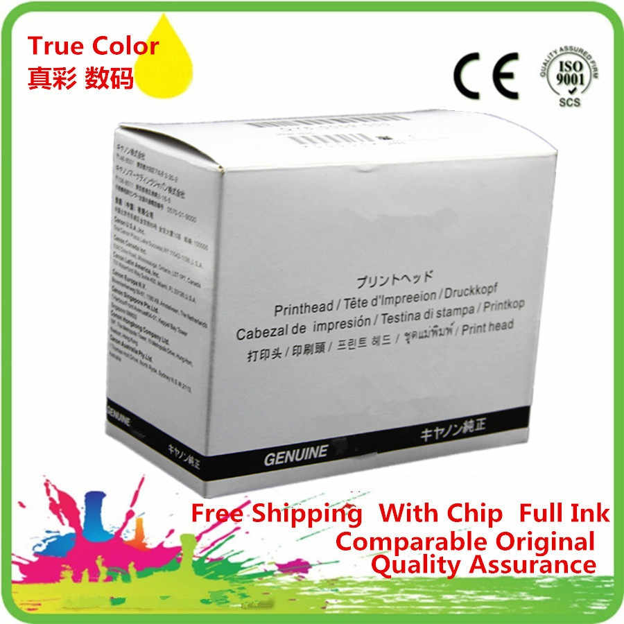 QY6-008000 QY6-0080 Printhead Print Head Printer Remanufactured Untuk Canon IP4880 ip4830 MG5280 MG5250 Ix6550 MX892 IX658 MG5340