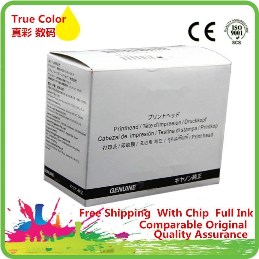 <font><b>QY6</b></font>-<font><b>0080</b></font> <font><b>QY6</b></font>-008000 Printhead Print Head Printer Remanufactured For Canon MG5250 MX892 Ix6550 IP4880 ip4830 MG5280 IX658 MG5340 image