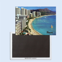 цены View of Waikiki and Diamond Head  Oahu Hawaii USA 24351 Fridge Magnet