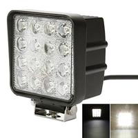 2pcs Lot Square 48W LED Work Light Bar Lamp For Motorcycle Tractor Boat Off Road Excavator